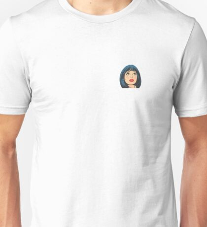 Retro Crying Girl Unisex T-Shirt