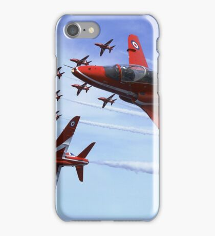 The RAF (Royal Air Force) Red Arrows iPhone Case/Skin