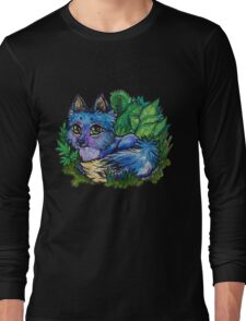 Space Fox Landed Long Sleeve T-Shirt