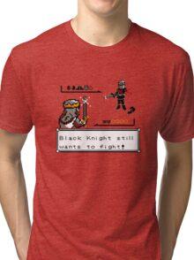 Black Knight Battle Tri-blend T-Shirt