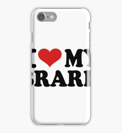 I Love My Librarian- librarian t shirts iPhone Case/Skin