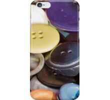 old buttons collection iPhone Case/Skin