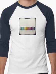 Rainbow threads Men's Baseball ¾ T-Shirt