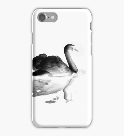 swan and the lake iPhone Case/Skin