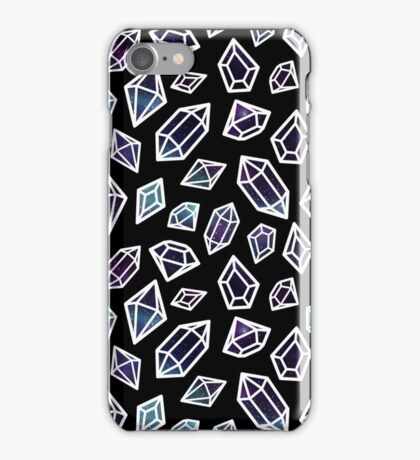 Space Crystals iPhone Case/Skin