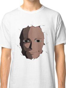Saitama Face Expression (One Punch Man Anime) Classic T-Shirt