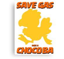 SAVE GAS Canvas Print