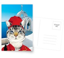 Greek Cat Postcards