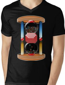 candy time Mens V-Neck T-Shirt