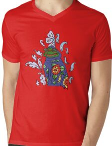 Granny Frog  Mens V-Neck T-Shirt