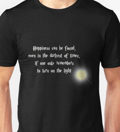 Dumbeldore's Happiness Quote Unisex T-Shirt