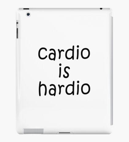 Cardio is Hardio iPad Case/Skin