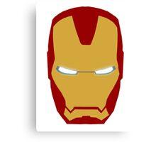 Iron Man Helmet Canvas Print
