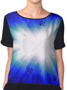 Ghost explosion Chiffon Top