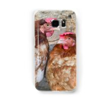 hen in the farm Samsung Galaxy Case/Skin