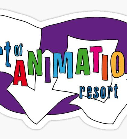Disney Art of Animation Sticker