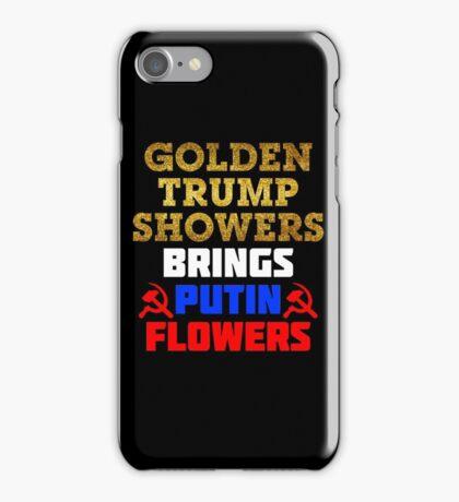 Funny Anti-Trump Putin Not My President iPhone Case/Skin