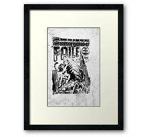 Extra ! The savage world of FAILE Framed Print