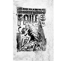 Extra ! The savage world of FAILE Photographic Print