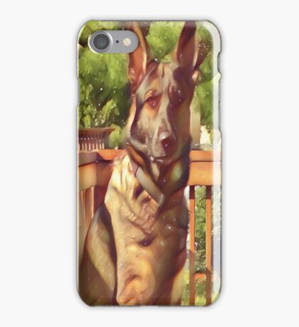 Artsy Shepherd iPhone Case/Skin