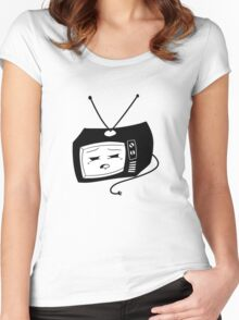 Sleepy Telly Women's Fitted Scoop T-Shirt