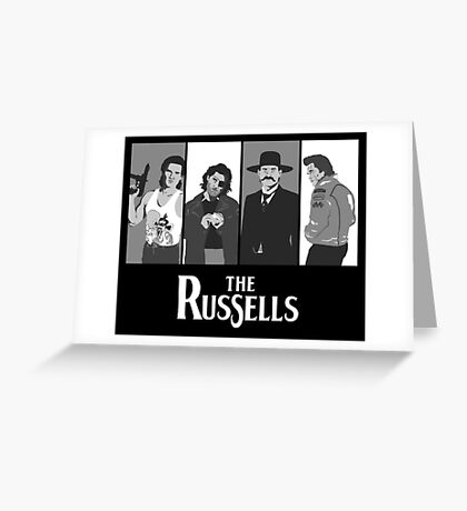 The Russells Greeting Card