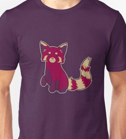 Blueberry Red Panda  Unisex T-Shirt
