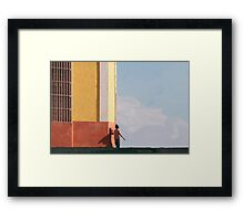 There's a super hero inside all of us.. Framed Print