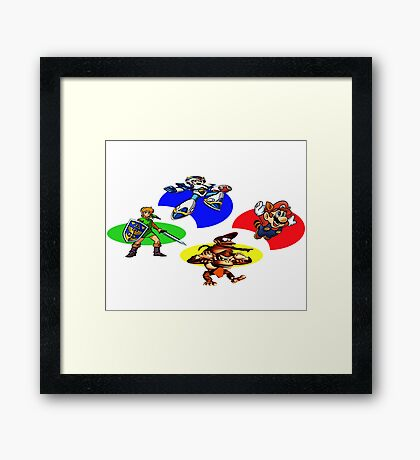 Snes Collections Framed Print