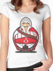 Assassin's Big Women's Fitted Scoop T-Shirt