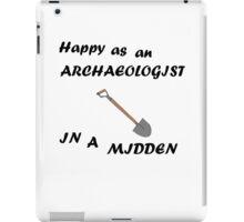 Happy Archaeologist iPad Case/Skin