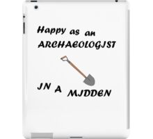 Happy Archaeologist iPad Case/Skin