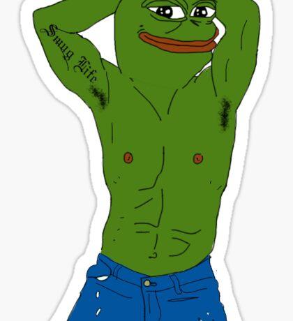 Buff Pepe Sticker