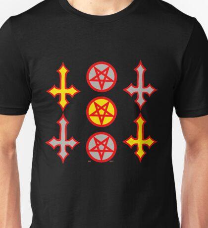 PENTAGRAMS AND CROSSES YandG Unisex T-Shirt