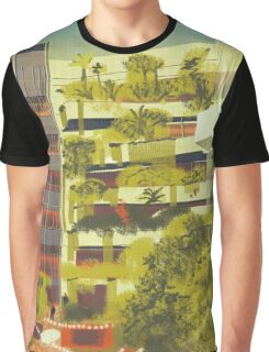 House decorated with plants Graphic T-Shirt