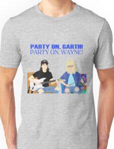 WAYNE'S WORLD - Party On! Unisex T-Shirt