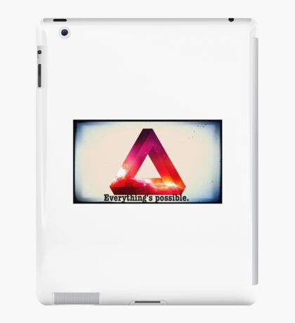 Everything's Possible. iPad Case/Skin