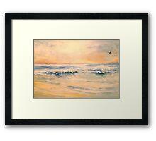 The Sea...The Sea Framed Print