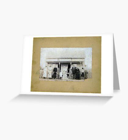 G.W. WILLIAMS, ELEXANDER R2, D.H.C.B. 396 Greeting Card