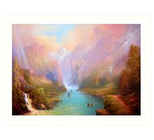 The Great River Art Print