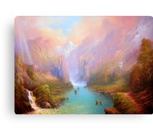 The Great River Canvas Print