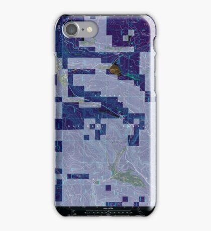 USGS TOPO Map California CA Childs Meadows 100177 1995 24000 geo Inverted iPhone Case/Skin