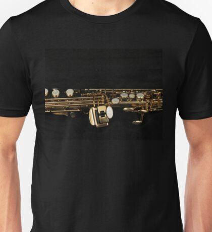 Soprano Sax - Side View Unisex T-Shirt