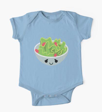 Salad Emoji Pretty Please One Piece - Short Sleeve