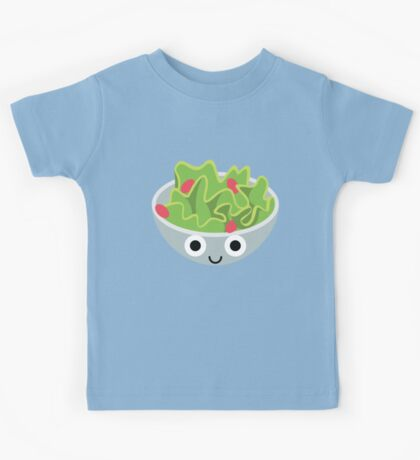Salad Emoji Shock and Surprise Kids Tee
