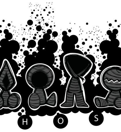 Ghost Plushies - AJIN anime Sticker
