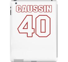 NFL Player Mike Caussin forty 40 iPad Case/Skin