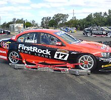 """""""Johnson FirstRock Home Loans V8 Supercar"""" by mbutwell"""