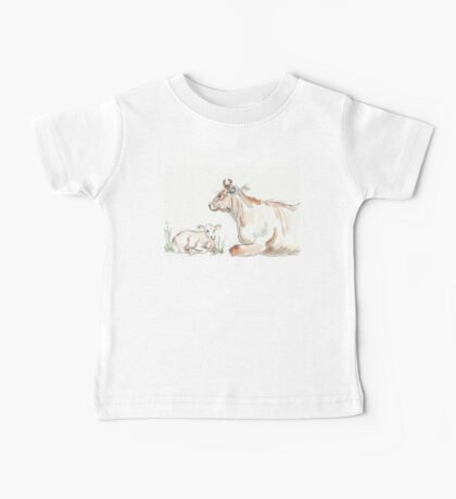 Daisy, the Jersey cow Baby Tee