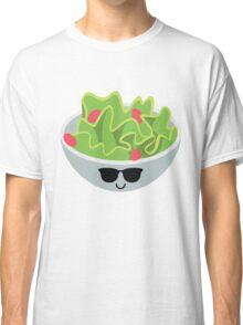 Salad Emoji Cool Sunglasses Classic T-Shirt